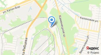 Брестская Транспортная база РУП Брестское отделение Белорусской Ж/д на карте