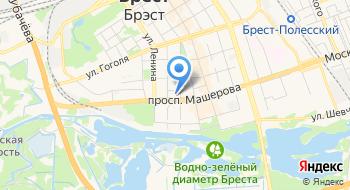 Отделение Почтовой Связи 10 РУП Белпочта на карте