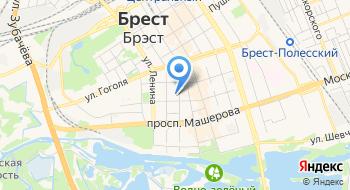Баня КУП Брестская Физкультурно-оздоровительная Служба на карте