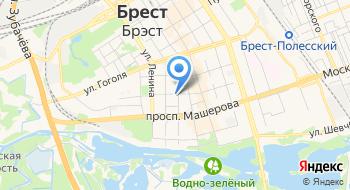 Энергонадзор филиал РУП Брестэнерго Брестское Межрайонное отделение на карте