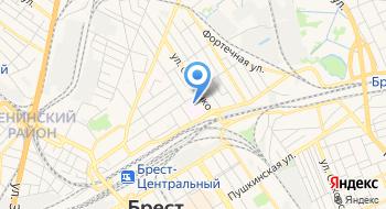 Больница № 1 Городская Брестская УЗ на карте