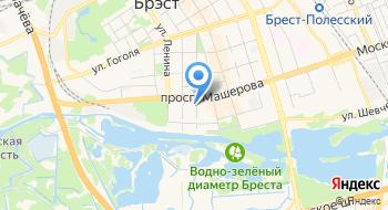 Брестская Епархия Белорусской Православной Церкви на карте