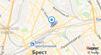 Поликлиника № 1 Детская Городская Брестская УЗ на карте