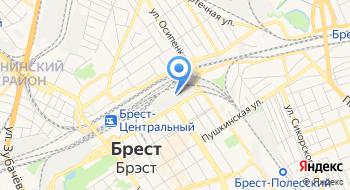Столовая СП Брестгазоаппарат на карте