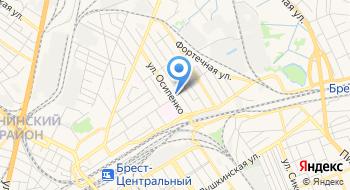 Брестский Городской Отдел по Чрезвычайным Ситуациям на карте