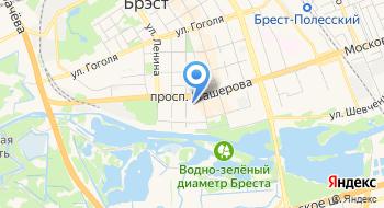Белтуртранс на карте