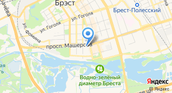 Интурист гостиница Туристический комплекс Брест-интурист на карте