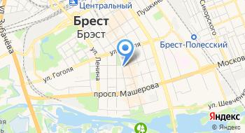 Суд Брестского района на карте