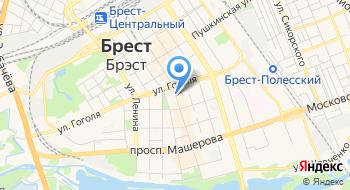 Памятник 1000-летия Бреста на карте