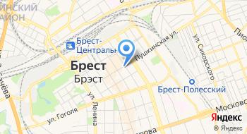Лицей Швейного Производства им Д.М. Карбышева Профессиональный Брестский ГУО на карте