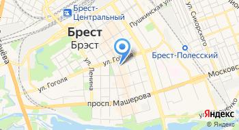 Белинвестбанк Дирекция по Брестской области на карте