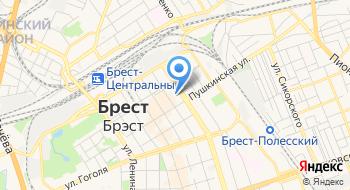 Брестский государственный университет имени А.С.Пушкина на карте