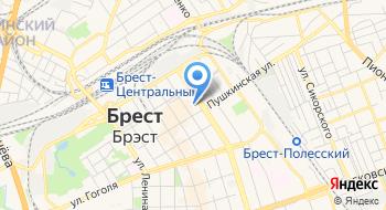 Такси Брест Браво на карте