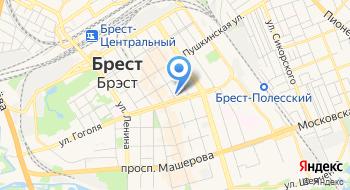 Поликлиника Стоматологическая Городская Брестская УЗ на карте
