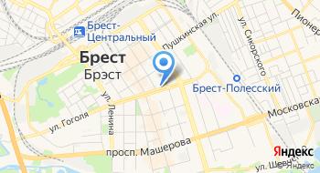 4х4&к Ткани магазин Китекс Брест на карте