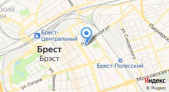 Библиотека им М. Горького Брестская Областная УК на карте
