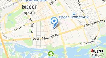 РУП Брестэнерго Учебный Энергетик на карте