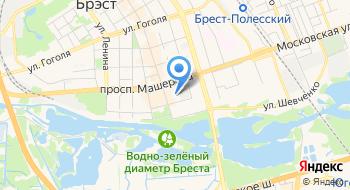 Лицей им П. М. Машерова Брестский Областной ГУ на карте