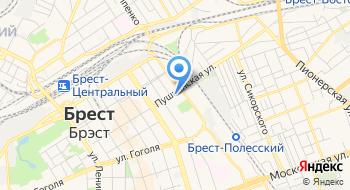 Управление Следственного Комитета РБ по Брестской области на карте