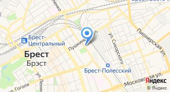 Лицей Железнодорожного Транспорта Профессиональный Брестский ГУО на карте