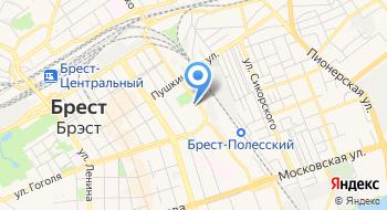 ЖЭС № 10 КУП ЖРЭУ Г Бреста на карте