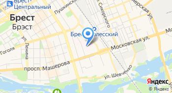 Поликлиника Детская Консультативная Областная Брестская УЗ на карте