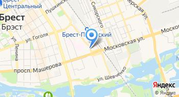 Супертекстиль салон штор ЧТУП Эльтекс на карте
