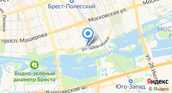 Дом Гражданских Обрядов Брестского Горисполкома на карте