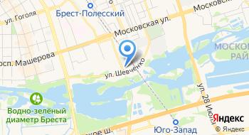 Брестское Областное управление МЧС РБ Учреждение на карте