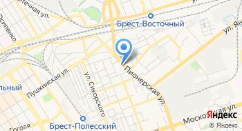 Автостоянка ЧУП Бреставтогарант на карте