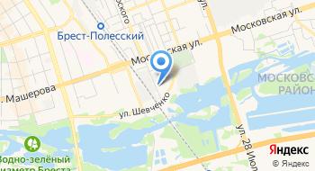 Брестоблгаз УП на карте