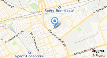 Военный Комиссариат Брестской области на карте