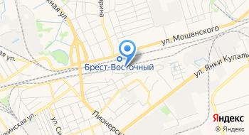 Локомотивное Депо Брест РУП Брестское отделение Белорусской Ж/д на карте