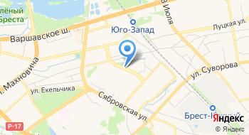 Денилс на карте
