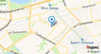 Отделение Почтовой Связи 33 РУП Белпочта на карте