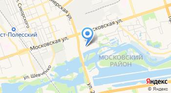 Диспансер Спортивной Медицины Брестский Областной УЗ на карте