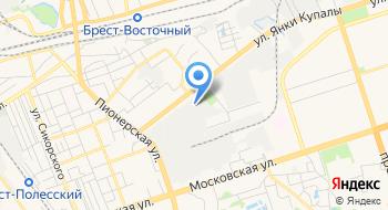 Столовая Брестский Чулочный комбинат на карте