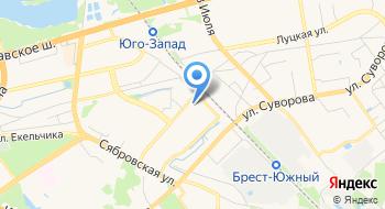 Клуб Активного отдыха Альфа Брест на карте