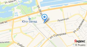 Автостоянка ЧУП Бресто на карте