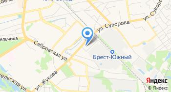 Районный центр занятости населения Кобринского райсполкома на карте