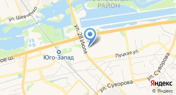 Супермаркет Микс на карте
