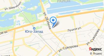 Магазин Викинг на карте