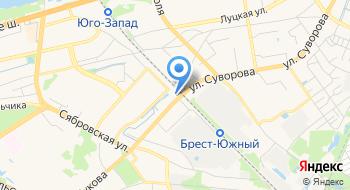 Автомойка ЧУП Автотех Блеск на карте