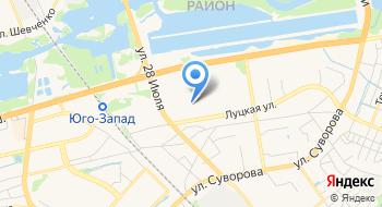 Баськив О.С. ИП на карте