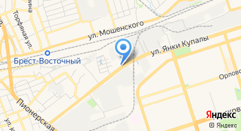 АГЗС МПУ Брестмежрайгаз УП Брестоблгаз на карте