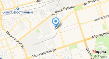 Брестский Автобусный Парк на карте