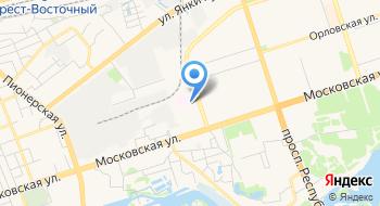 Поликлиника Центральная Брестская УЗ на карте