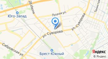 Беловежский на карте