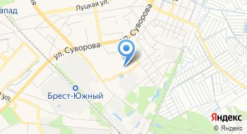 Теплон-филиал Брест на карте