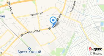 АГНКС Брест-1 Газпром Трансгаз Беларусь на карте